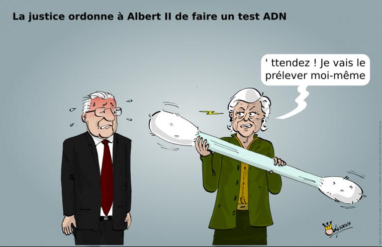 Test ADN pour Albert II (?)