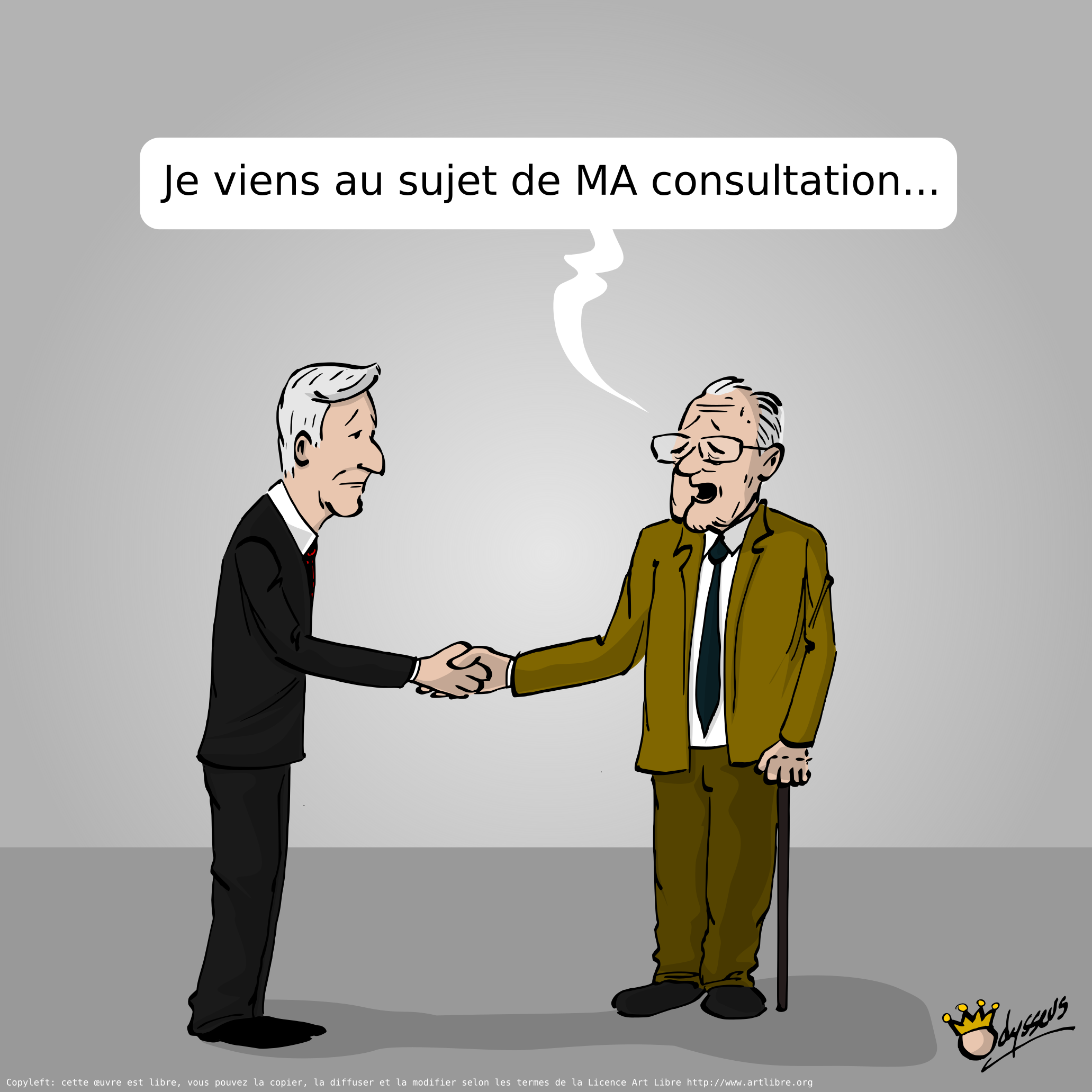Consultation royale !