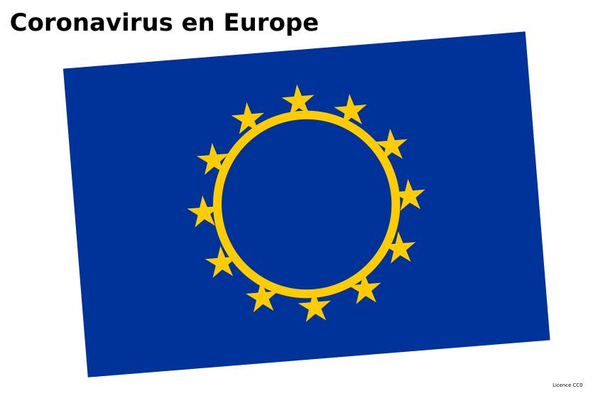Europe et coronavirus