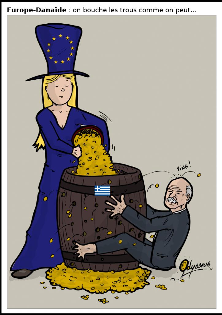Crise financière 160 milliards pour la Grèce