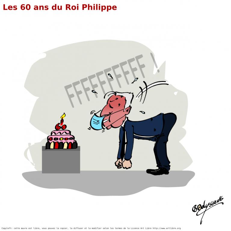 Le Roi Philippe a 60 ans