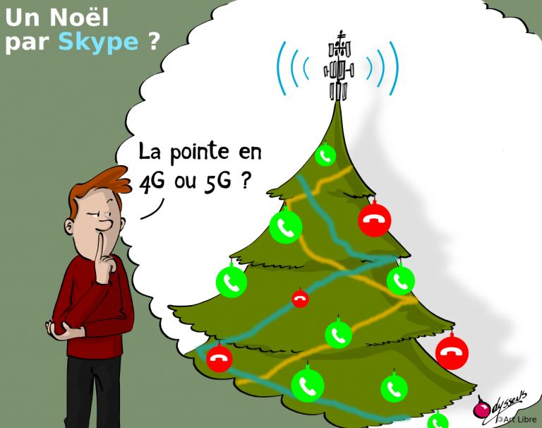 Un Noël par Skype ?