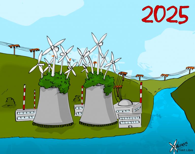 Sortie du nucléaire en 2025